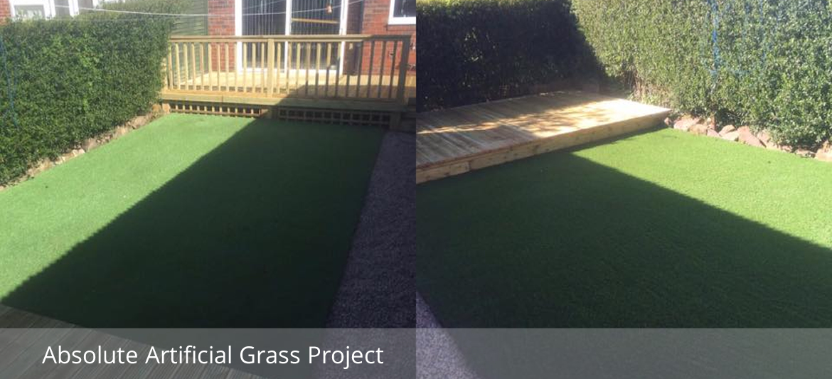 Absolute Artifical Grass Laying
