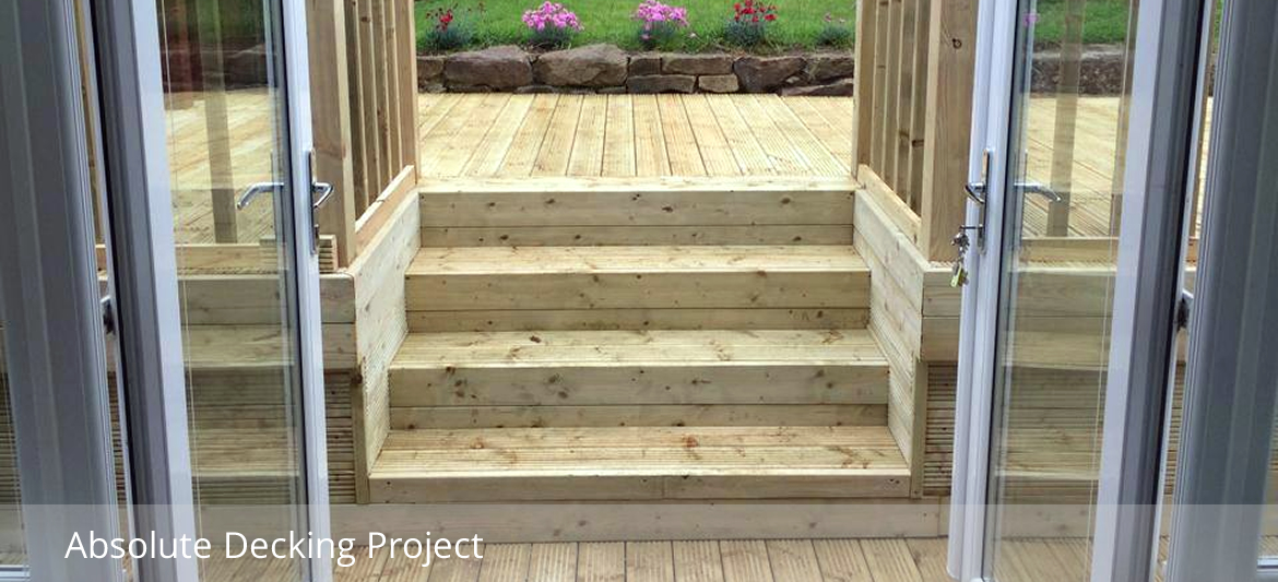 Sustainable garden decking