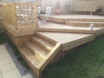 Decking and Steps Bradford